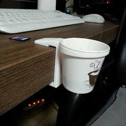 Free 3d printer files cup holder DIY, 3D_parts