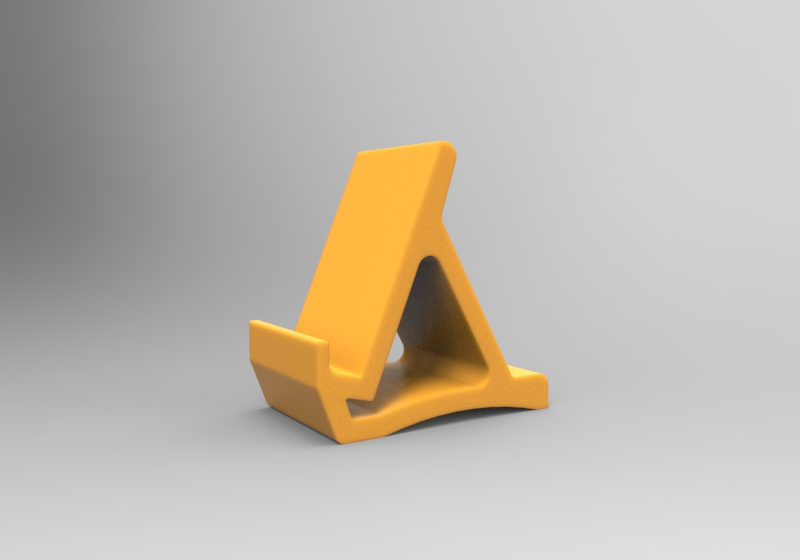 material view stand.jpg Download free STL file Simple Stand v1.0 • Design to 3D print, Milanorage