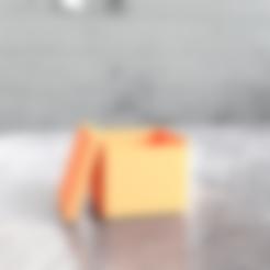 (BOX) Simple Box by Michael Milano (BOX).stl Download free STL file Simple Box - Get ORGANIZED! • Model to 3D print, Milanorage