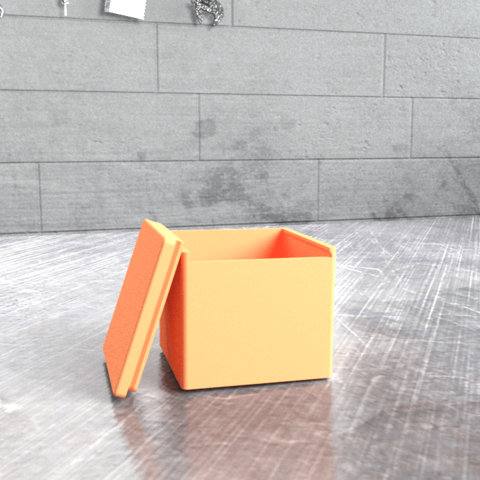107819-rendered-194808_gi.png Download free STL file Simple Box - Get ORGANIZED! • Model to 3D print, Milanorage