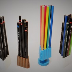 3D print files A SIMPLE YET ELEGANT PENCIL HOLDER, Milanorage
