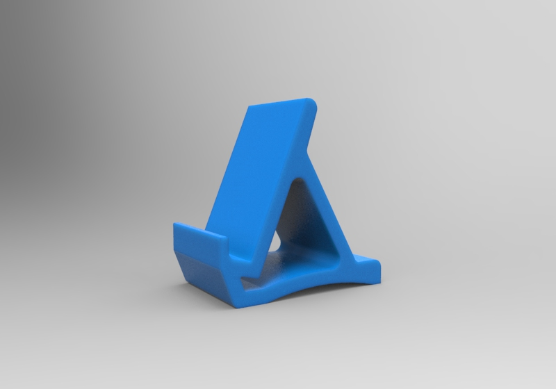isometric view stand.jpg Download free STL file Simple Stand v1.0 • Design to 3D print, Milanorage
