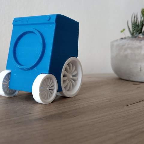modèle 3d gratuit Laveuse rapide - Pas une machine à laver typique, Milanorage