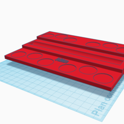 SupportPeinture.PNG Download free STL file Paint Pallet • 3D print template, willyamamoussou