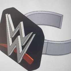 bague wwe1.jpeg Download free STL file WWE Ring • 3D print object, jamesmichael72210