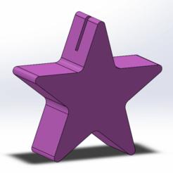 Télécharger modèle 3D gratuit Etoile de table, payet_joseph