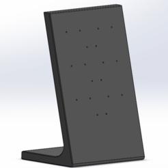 support boucle oreilles.png Télécharger fichier STL gratuit support boucle d'oreille • Objet imprimable en 3D, payet_joseph