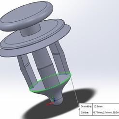Download free 3D printer templates Auto clip, payet_joseph