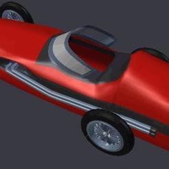 modelo stl auto de carrera, misobjetos3dmorales