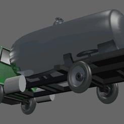 archivos stl Camion Cisterna, misobjetos3dmorales