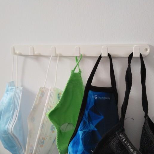 Download STL file Mask Hanger • 3D print design, ivansellesvaya