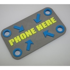 PHONE_PAD.jpg Download free STL file PhonePad • 3D printable model, doppiozero