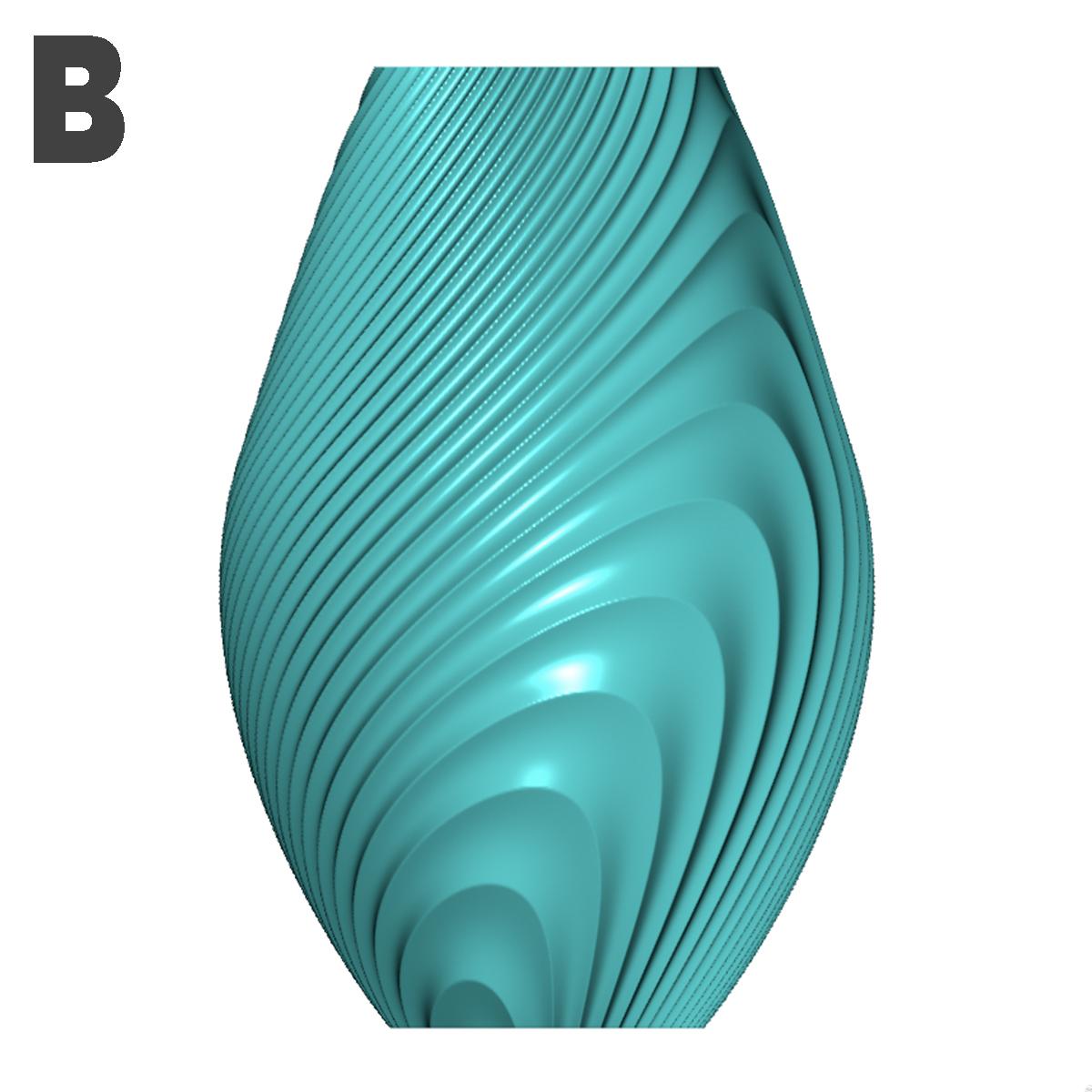 b.jpg Descargar archivo STL gratis Colección de jarrones en órbita • Objeto imprimible en 3D, Filar3D