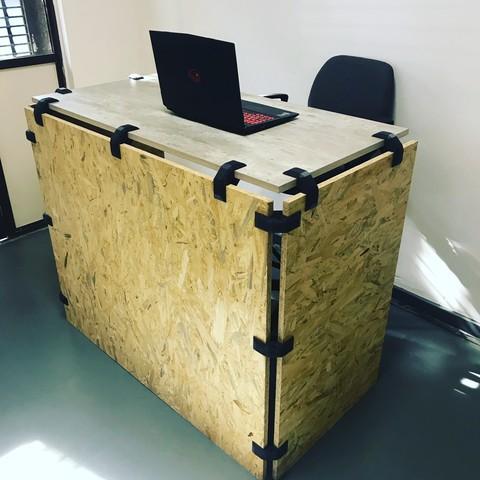 Download STL 90 Degree Corner Joint for Furniture, Filar3D