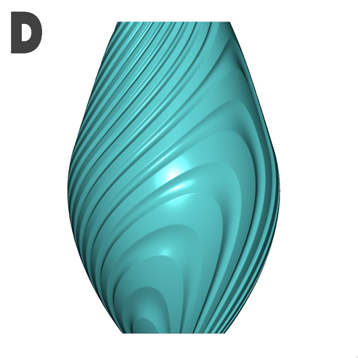 d.jpg Descargar archivo STL gratis Colección de jarrones en órbita • Objeto imprimible en 3D, Filar3D