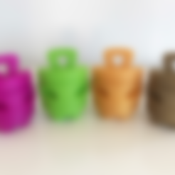 Download free 3D printing models Filar3D Philly - Keychain, Filar3D