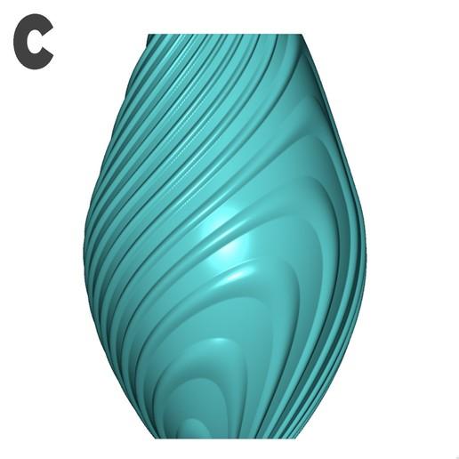 c.jpg Descargar archivo STL gratis Colección de jarrones en órbita • Objeto imprimible en 3D, Filar3D