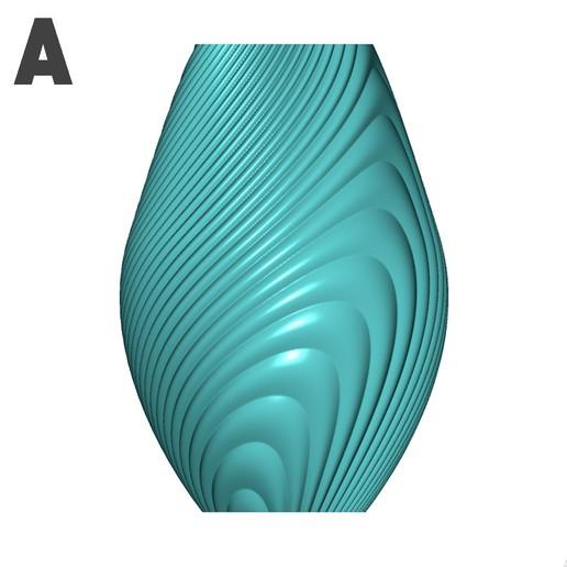 a.jpg Descargar archivo STL gratis Colección de jarrones en órbita • Objeto imprimible en 3D, Filar3D