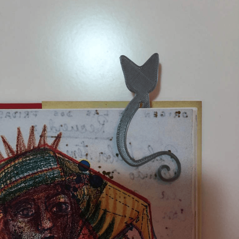 STL gratis Marcador de Gato, Filar3D