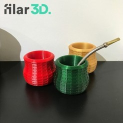 Free 3d printer model Filar3D Printed Mate, Filar3D