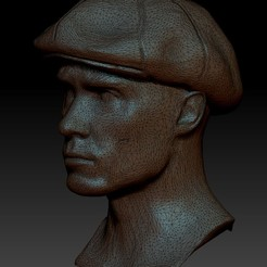 ts.jpg Download OBJ file Tommy Shelby • 3D printer model, santysem