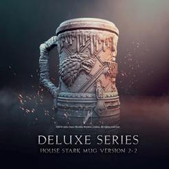 Download 3D printing models House Stark Jar V2 Game of Thrones, jullessoulm