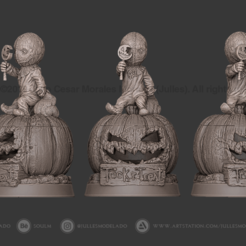 Trick_Treat_Preview02.png Télécharger fichier STL Trick or Treat Sam • Objet à imprimer en 3D, jullessoulm