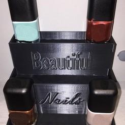Diseños 3D gratis Caja de esmalte de uñas, Matt0723