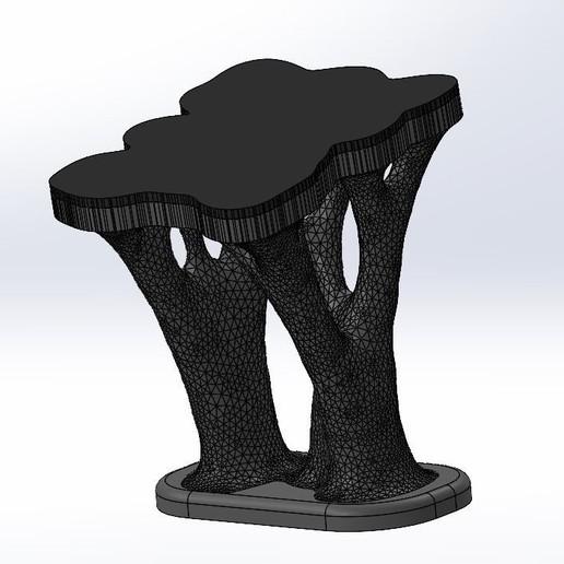 Télécharger plan imprimante 3D Support pour ordinateur portable à topologie optimisée, giova_g