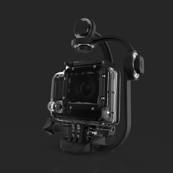 Download 3D printer designs Steadycam for gopro., imaginestudio_idc