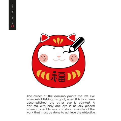Daruma_2-07-07.jpg Télécharger fichier STL gratuit DARUMA-NEKO • Design pour impression 3D, imaginestudio