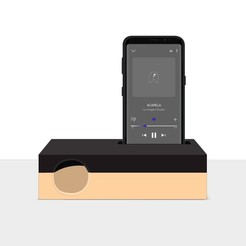 "STL files ""Acapela"" amplifier for phones, imaginestudio_idc"