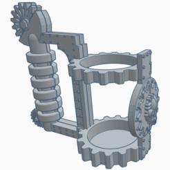 chope meka 1.png Télécharger fichier STL chope meka porte canette • Plan à imprimer en 3D, laforgeavapeur
