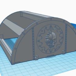 tunnel 2.png Télécharger fichier STL hangar tunnel 40k • Design imprimable en 3D, laforgeavapeur
