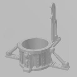 1.png Download STL file pot holder 40k • 3D printable design, laforgeavapeur