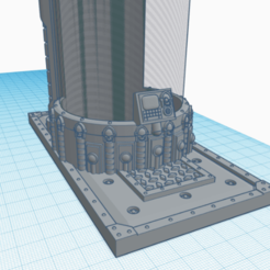 porte canette 1.png Download STL file can holder 40k • 3D print object, laforgeavapeur