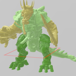corp base 1.png Download free STL file prince demon of nurgle • Template to 3D print, laforgeavapeur