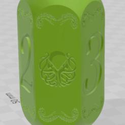 dé cthulhu 1.png Télécharger fichier STL dé 6 cthulhu  • Modèle à imprimer en 3D, laforgeavapeur