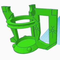 porte canette necron.png Télécharger fichier STL chope necron porte canette • Modèle imprimable en 3D, laforgeavapeur