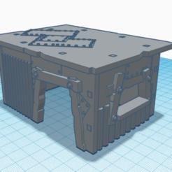 1.png Télécharger fichier STL pack de décor moyen ork 40k • Objet à imprimer en 3D, laforgeavapeur