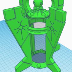 Download 3D model obelisk decoration necron can, laforgeavapeur