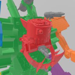 1.png Download STL file stompa ork 40k • 3D printable model, laforgeavapeur