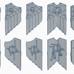 bouclier rg.png Télécharger fichier STL Bouclier raven guard • Design pour impression 3D, laforgeavapeur