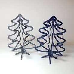 3D printer files Spinning Christmas tree - Table top decoration, samster_3d