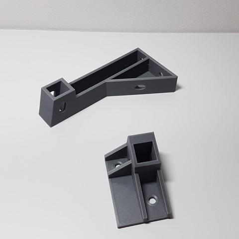 Free 3D printer model creality cr10s frame bracket (15x15 aluminum bars), samster_3d