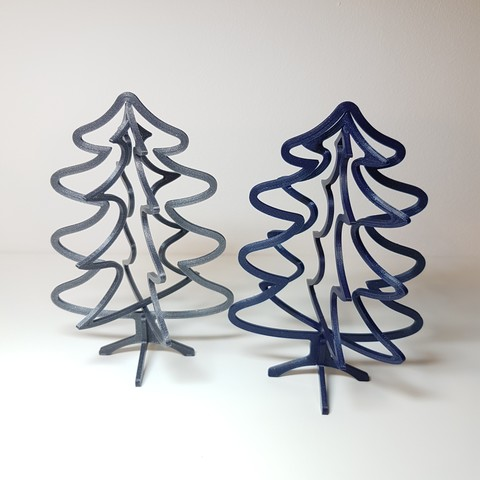 STL files Christmas spinning decoration collection, samster_3d