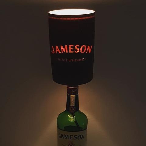 Télécharger plan imprimante 3D Jameson Abat-jour en forme de tonneau Whiskey pour lampes bouteille à cycle élevé, samster_3d
