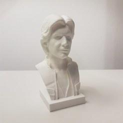 Imprimir en 3D gratis Busto de Han Solo, samster_3d