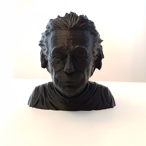 Free 3D printer designs Albert Einstein bust, samster_3d