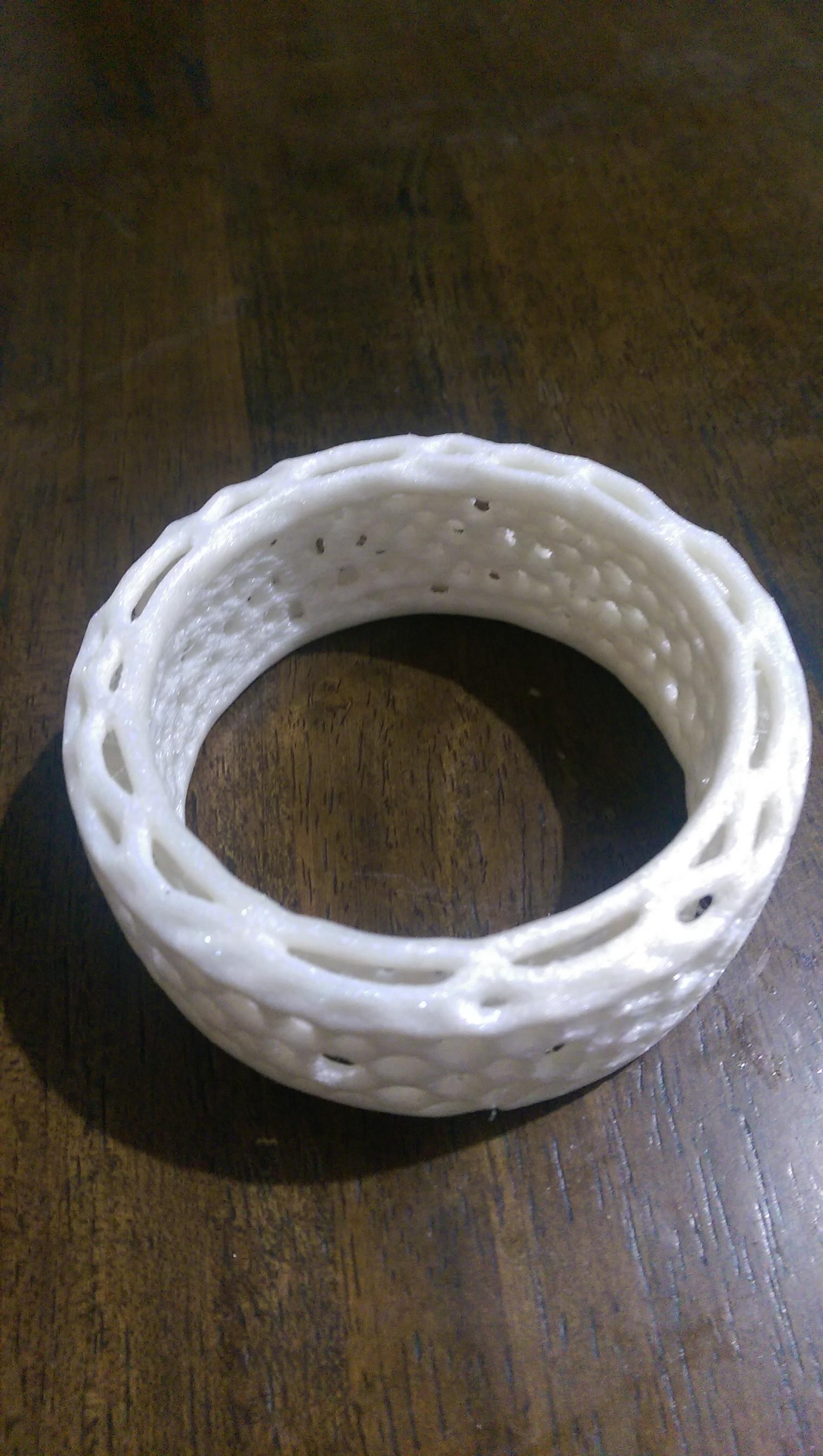 IMAG0358.jpg Download free STL file Bracelet Voro • 3D printer object, SamVoro